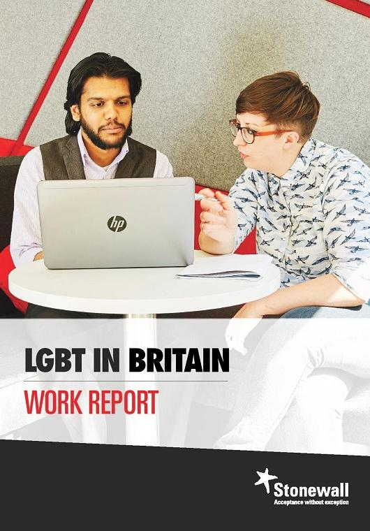 LGBT in Britain - Work (front cover)