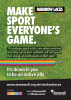 Rainbow Laces 2018 A3 poster